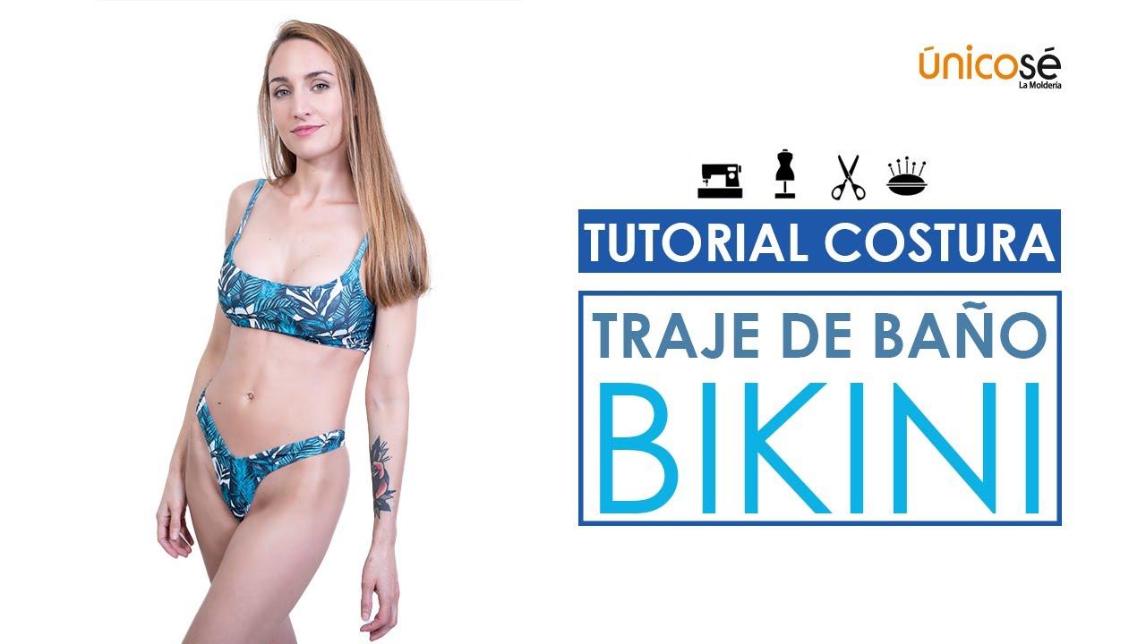 DIY Tutorial  Costura Traje de Baño Bikini