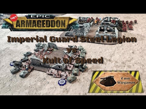 Epic Armageddon Imperial Guard vs Speed Freeks - Titans Clash Game 2 |