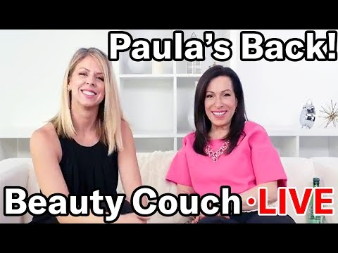 Paula's Back! | Beauty Couch LIVE