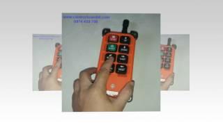 Chuyên cung cấp và lắp đặt điều khiển từ xa cho cầu trục, bộ điều khiển từ xa juuko, telecrane