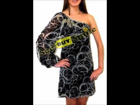 Cotton Club Circle Print Fully Lined Chiffon Dress