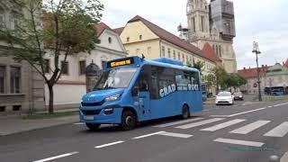 Buses in Zagreb, Croatia 2019 - Autobusni kolodvor Zagreb