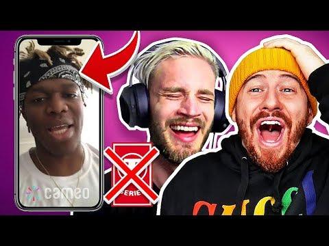 i Paid Celebrities $1,000 To Shoutout PewDiePie! (PewDiePie vs. T-Series)