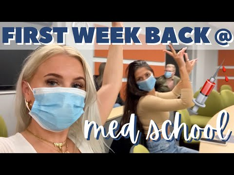 FIRST WEEK BACK AT MEDICAL SCHOOL | A Week In The Life Of A Third Year Medical Student 👩🏼🎓