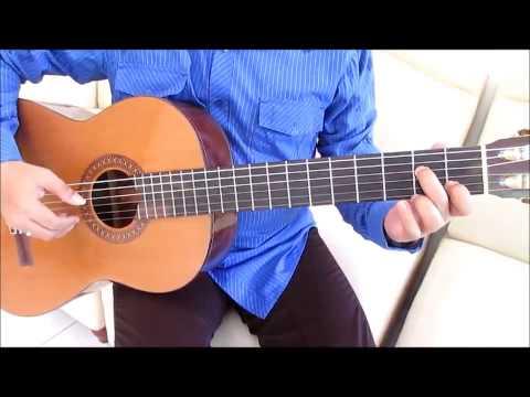 Belajar Kunci Gitar Ungu Asmara Terindah Intro Cara 1