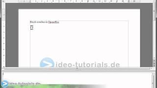 Brüche mit Formeleditor in Open Office darstellen - Anleitung