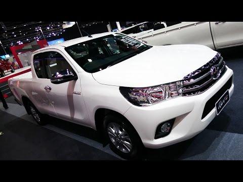 พาชม 2017 Toyota Hilux Revo Smart Cab 2.4G MT ภายนอก ภายใน