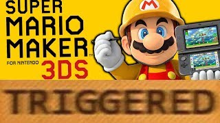 how super mario maker for 3ds triggers you