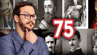 75 Postaci Historycznych które MUSISZ Znać
