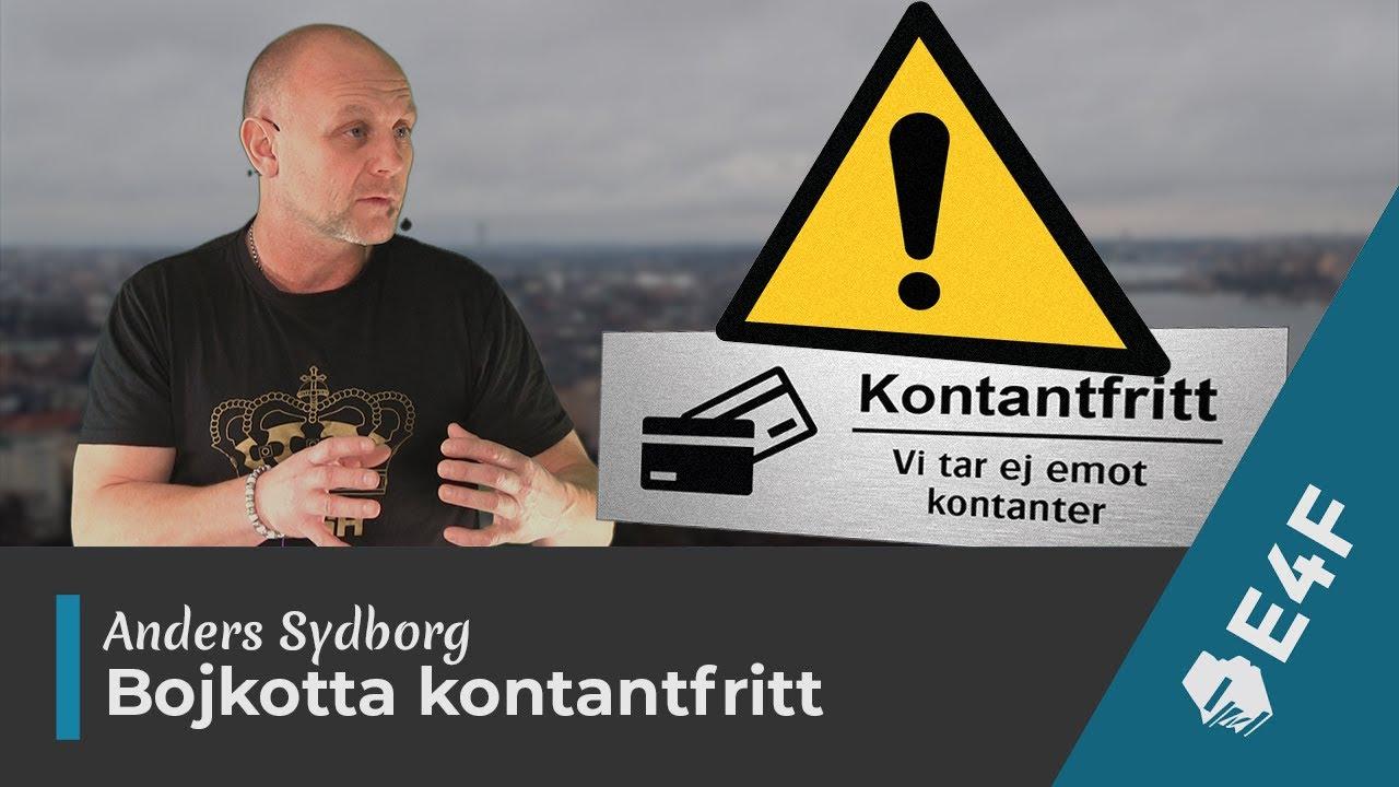 """Download Anders Sydborg om sitt snabbt växande upprop """"Bojkotta kontantfria affärer och restauranger"""""""