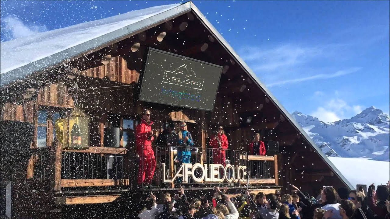 Folie Douce Val Thorens Week 7 2016 Youtube