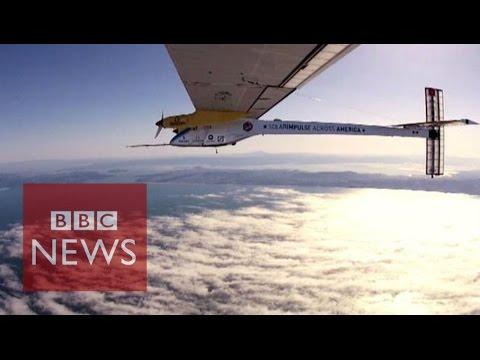 Solar Impulse 2: Solar plane pilot set for 6-day leg - BBC News