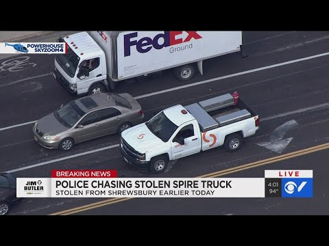Watch: News 4 At 4:00 Live Coverage Of St. Louis Police Chase