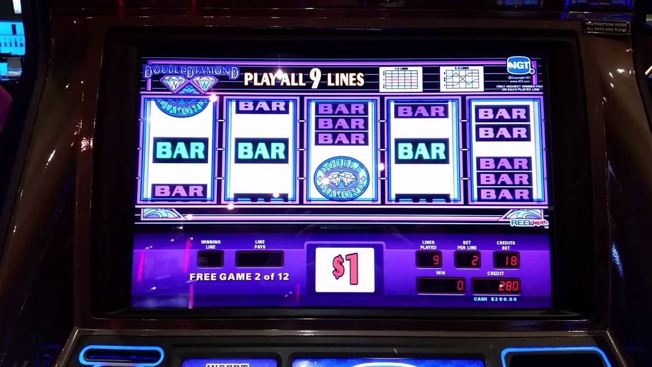 Free Double Diamond Slot Machine