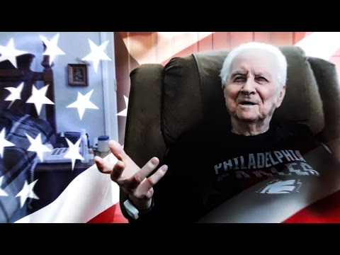 war veterans interview Bill combs was haunted by a sight 70 years ago that has shaped his outlook on war to this day.