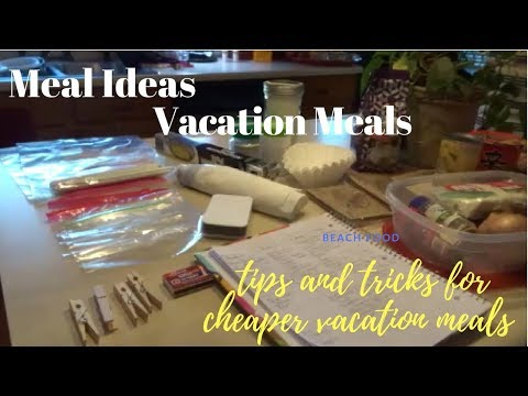 Vacation Beach Meal Plan & Meal Prep Tips