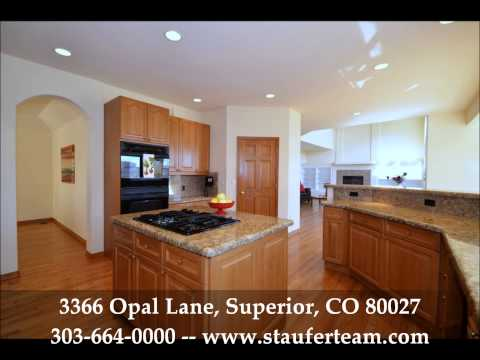 Just Listed in Superior - 3366 Opal Lane, Superior, CO 80027