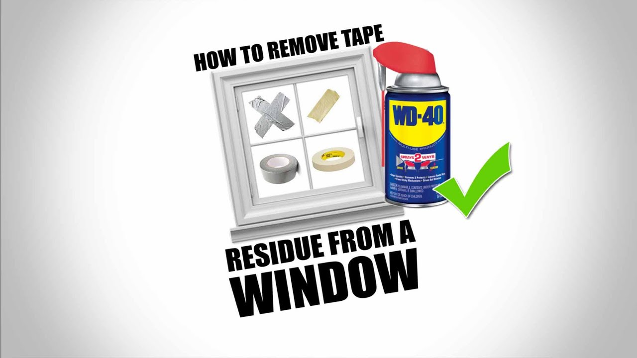 How To Remove Adhesive Residue From Acrylic Plastic And Gl Without Damage