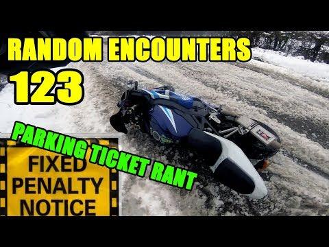 GSXR on Ice & Parking Ticket Rant - Random Encounters 123