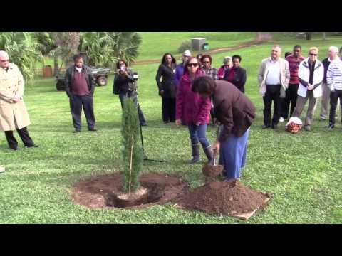 Malcolm Outerbridge Memorial Tree Planting Bermuda January 6 2012