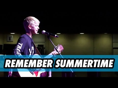 Carson Lueders - Remember Summertime LIVE in Dallas