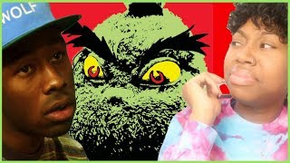 Gambar cover TYLER, THE CREATOR- MUSIC INSPIRED BY ILLUMINATION & DR. SEUSS' THE GRINCH *FIRST REACTION/REVIEW*