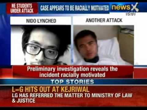 North-East students under attack: Two NE students attacked in South Delhi - NewsX