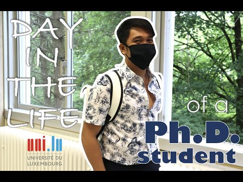 A Day in the Life of a PhD Student (University of Luxembourg) | Episode #2