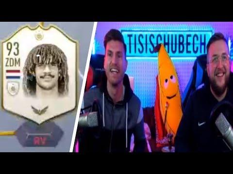 Tisi Schubech SPIELT GULLIT als RV in FUT CHAMPIONS | Fifa 19 Tisi Schubech Stream Highlights
