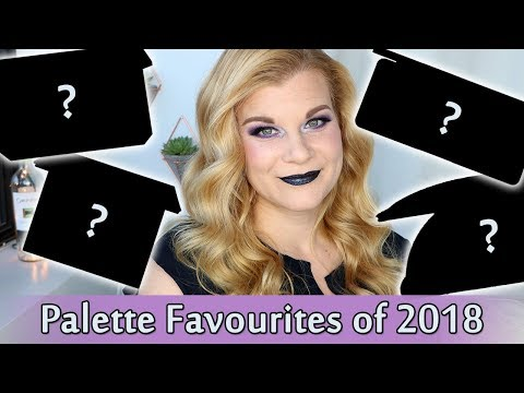 Favourite Palettes of 2018 | Makeup Your Mind