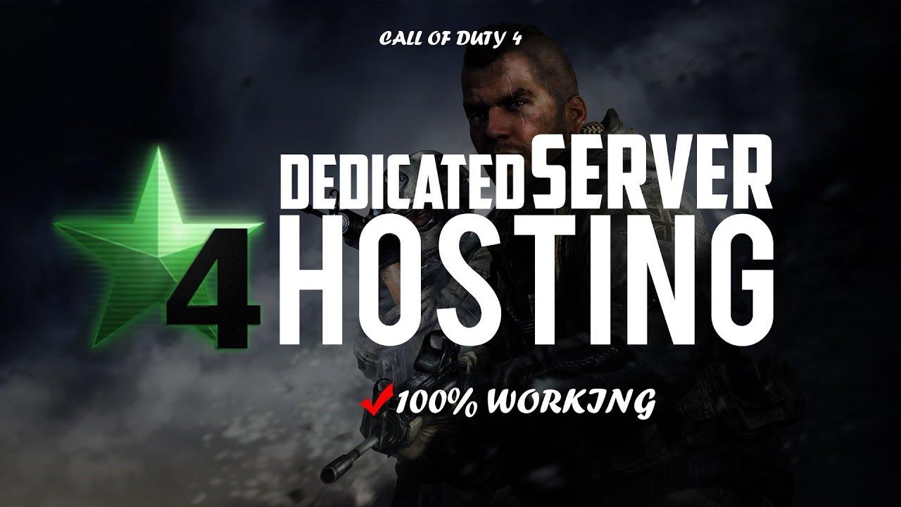 Cod 4 хостинг хостинг с доменом второго уровня и по