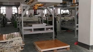 SPC vinyl flooring production