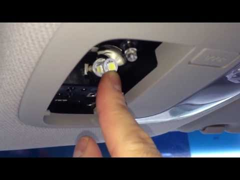 How to install LED dome and map lights 2013 Kia Soul