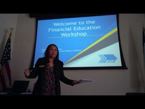 Financial Education and Will Writing Workshop