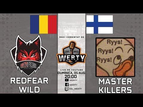 🔴(LIVE OVERTIME) REDFEAR WILD (RO) vs. MASTER KILLERS (FIN) - LIGA CEVO