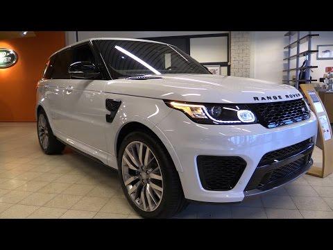 Land Rover Range Rover Sport SVR 2016 Start Up, Exhaust, In Depth Review Interior Exterior