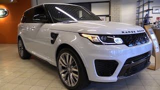 Land Rover Range Rover Sport SVR 2017 Start Up, Exhaust, In Depth Review Interior Exterior