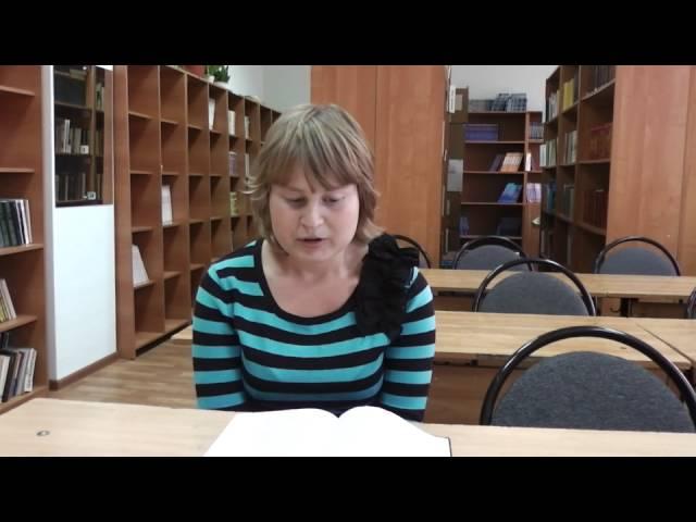 Изображение предпросмотра прочтения – МаринаЛавренова читает произведение «Матери» И.А.Бунина