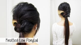 Sophisticated Low Ponytail