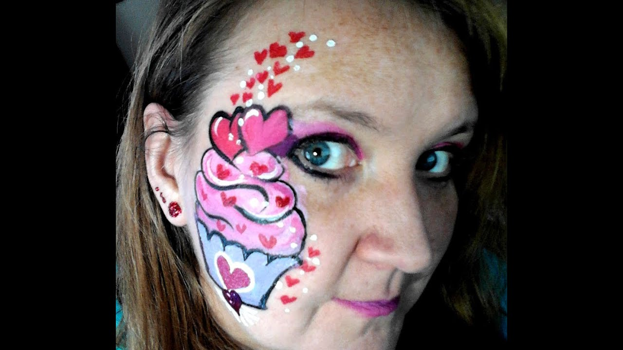 Valentines Day Face Painting Ideas Chicago Painter