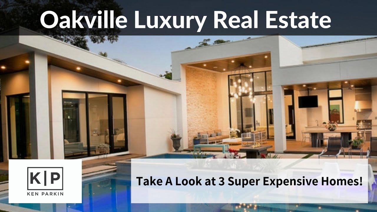3 Luxury Homes For Sale In Oakville