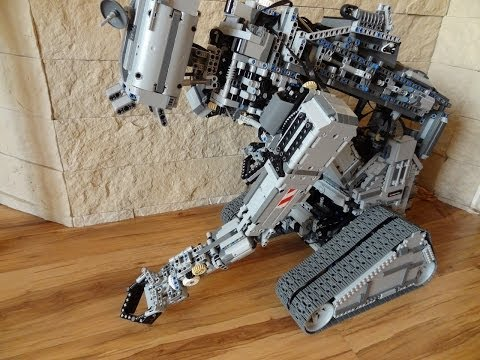 Lego JOHNNY 5, motorized 24 functions