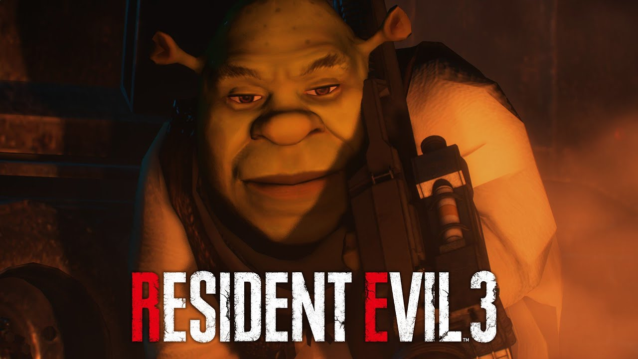 You Ever Wondered what Resident Evil 3 Would Be Like With Shrek As Nemesis