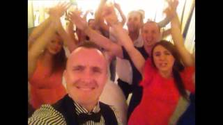 Безумно крутая свадьба Риты и Антона!!! выступление коллектива  руки вверх