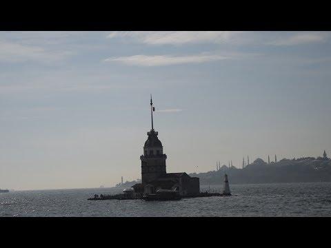İstanbul Boğazı (Kız kulesi, tarihi yarımada ve feribot)