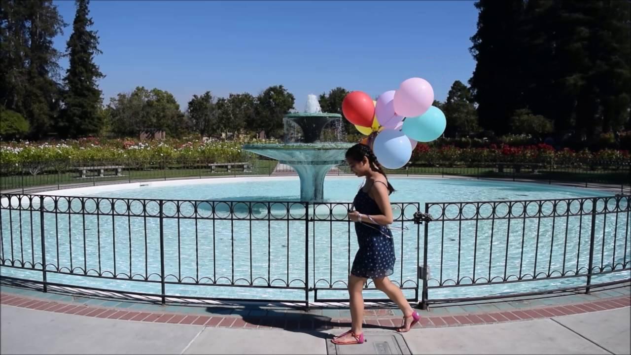 San Jose Municipal Rose Garden + Santana Row Vlog
