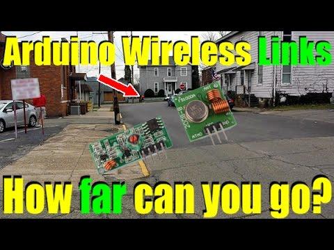 Arduino Wireless Link Max Distance Test