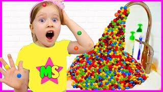 Милли и коллекция - яркие цветные конфетки