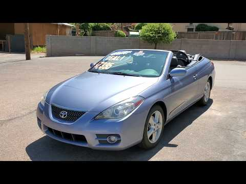 Quick Look At A  2007 Toyota Solara Convertible 150k Miles
