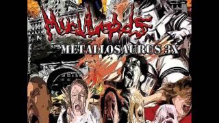 "Muculords ""Umani di Merda"" Track 13 Feat. Lugubrious (Haemorrhage) Taken from  ""Metallosaurus 3x"""
